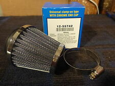 CHOOSE QTY! Emgo Clamp on air filter universal pod 42mm ID KZ440 GS1000 RD250