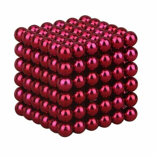 216pcs 3//5mm Mini Aimant Boules Boules Perles Néodyme Magnétique Puzzle Jouets