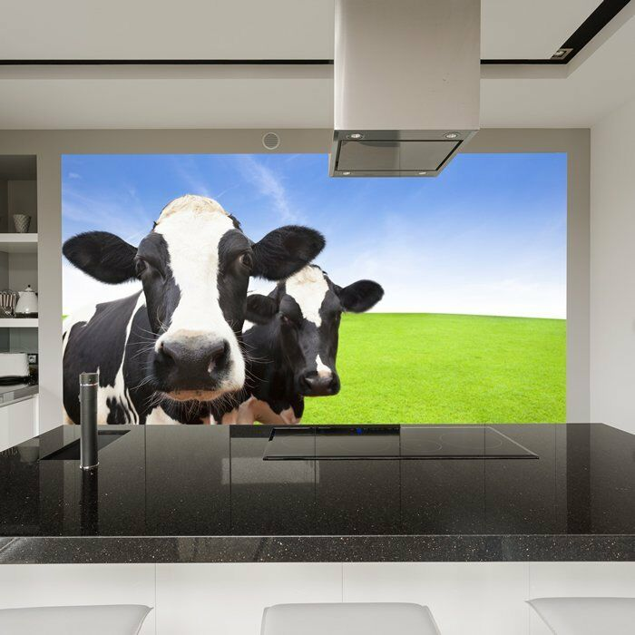 Milchkühe Fototapete Nutztiere Tapete Küche Kinderzimmer Wohnkultur