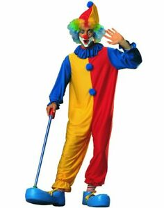 NWOT-ADULT-CLOWN-UNISEX-COSTUME-BY-MASQUERADE-INTERNATIONAL