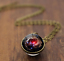 Solar-System-Pendants-Necklace-Galaxy-Planet-Necklace-S-Double-Sided-Glass-Dome thumbnail 10