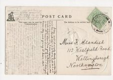 Miss K Standish Westfield Road Wellingborough 1906 205a