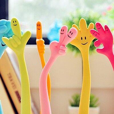 One Finger Shaped Flexible Ball Point Pen Kids Party Favour Ballpen