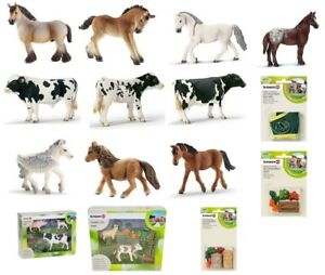 Schleich-Pferde-Fohlen-Bauernhoftiere-Bayala-Figuren-Accessoires-Auswahl