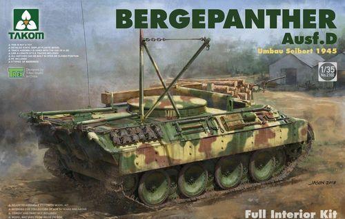TAKOM BERGEPANTHER AUSF.D FULL INTERIOR 1 35 2102