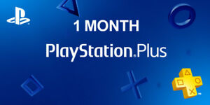 1 Month PS Plus PlayStation Plus PS4 PS3 Vita 2 14-Day Membership No Code