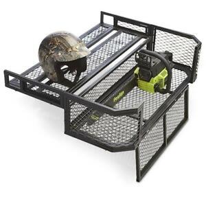 ATV UTV DROP REAR Cargo Carrier Steel Wire Basket Rack UNIVERSAL