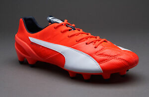 Image is loading Puma-evoSPEED-1-4-LTH-FG-Lava-Blast-