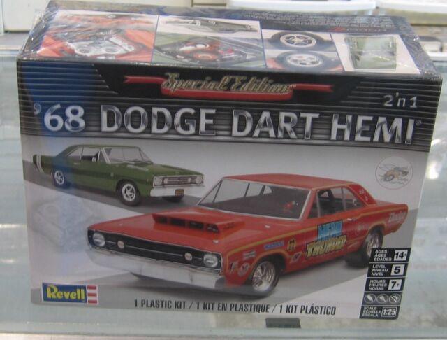 revell 1 25  Buy Revell 1 25 '68 Dodge HEMI Dart 2n1 Model Kit online | eBay