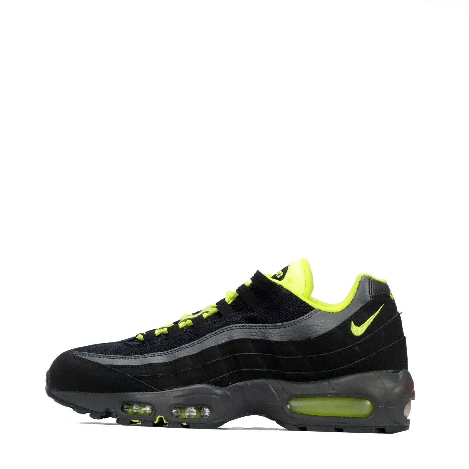 82c910660e11f Air Max 95 SI Men's Black/Venom Green Odd Pair Nike Shoes nxhpfr4492 ...