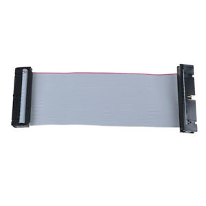 IDE-40Pin-Male-to-female-pata-hard-drive-hdd-extension-flat-ribbon-cable-5inchUN