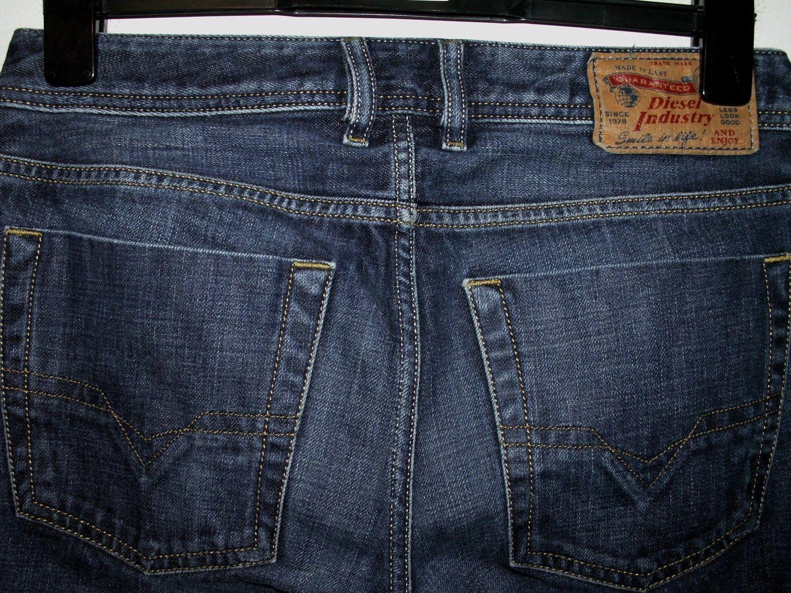 Diesel zatiny démarragecut jeans wash 0074W W28 L30 (a4365)