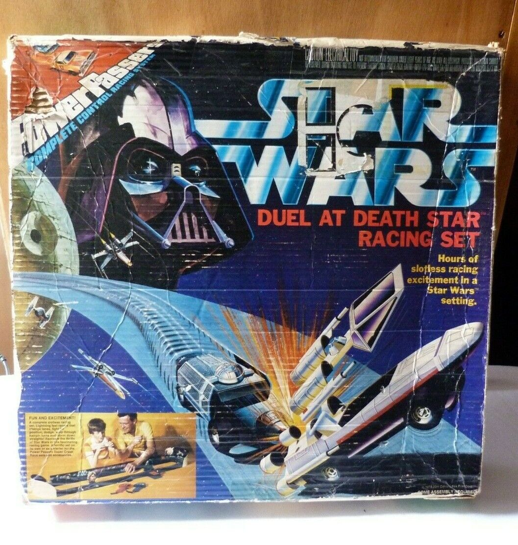 Star Wars  Duel at Death Star Racing set   STAR WARS CIRCUIT VOITURES 1978