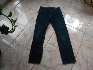 Sehr Straight Dunkelblau L32 G W30 Unifarben 3301 H7862 Gut Jeans star tzqaxpw