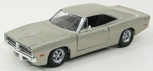MAISTO 1/25 DODGE | CHARGER R/T 1969 | SILVER