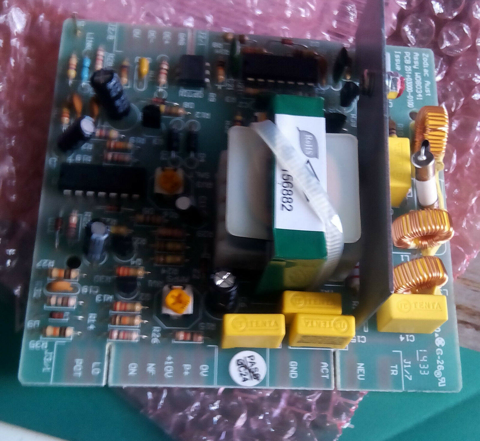 CLEARWATER C SERIES PCB fits all Größes + Hydromaster HAS FUSE, FRESH Zodiac,
