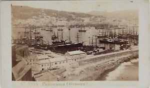 Carlo-Ponti-Port-Genova-Italia-CDV-Foto-Vintage-Albumina-c1860-5