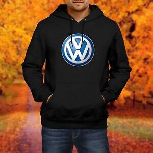 menherren sweatshirt vw volkswagen hooded sweat hoodie pullover kapuzenpullover ebay