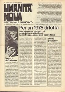Umanita-Nova-settimanale-anarchico-Anarchia-Annata-completa-del-1975