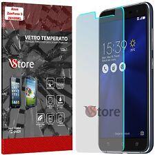 "Pellicola in Vetro Temperato Per Asus ZenFone 3 ZE520KL Display LCD 5.2"""
