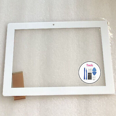 "10.1/"" Touch Screen Digitizer Glass with Tape For RCA RCT6K03W13 H1 Tablet"