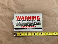 genuine original NEW Zipp wheels sticker sheet decal