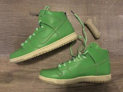 heaven Trademark Postman  Nike Dunk High Premium SB Statue of Liberty - Size 11 - Green Seagrass |  eBay