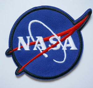 embroidery nasa astronaut sew iron on patch badge bag