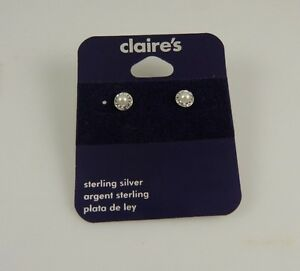 Sterling-Silver-ball-crystal-faux-pearl-earrings-earring-studs-925-925