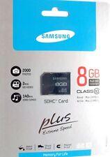 NEU ORIGINAL Samsung SDHC Plus 8GB Class 10 Speicherkarte (MB-SP8GA/EU)