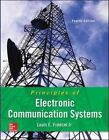 Principles of Electronic Communication Systems by Louis E. Frenzel (Hardback, 2015)