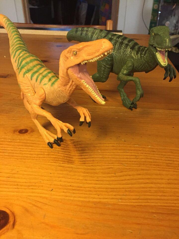 Dyr, 2 Dinosaur figurer
