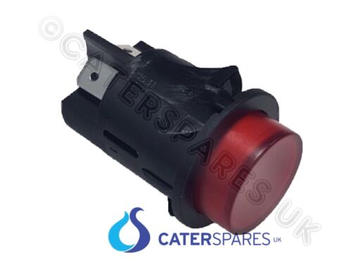 RED ROUND PUSH BUTTON FOR HEATED GANTRY UNIT ON OFF POWER SWITCH DOUBLE POLE