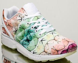 adidas zx flux white multicolor size 6 adidas flux