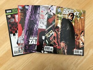 Human Target Graphic Novel Vertigo Comic - Editions 1 to 6 2010