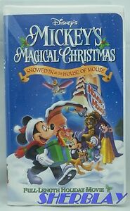 image is loading walt disney mickey 039 s magical christmas snowed - Mickey Magical Christmas Snowed In At The House Of Mouse