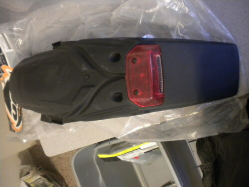 Details about  /UFO Plastics Black Universal Mount with Tail Light CR KX KTM RM YZ 12-212-14