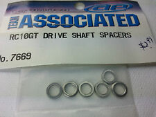 Team Associated 7669 Drive Shaft Spacers. Fits RC10TC3, RC10T2, RC10NDS, RC10GT