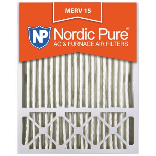 20x25x5 4 Merv 15 x6675 x6673 Air Filter Furnace Pleated Lennox Electrostatic 16