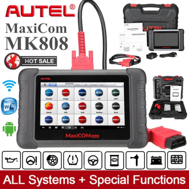 AUTEL MaxiCOM MK808 as MX808 MK808BT OBD2 Diagnostic Scanner Tool Code Reader CA