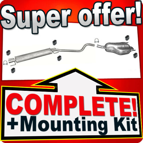 Opel//Vauxhall Astra H 1.6 1.8 Hatchback Coupe 2004-/> Silencer Exhaust System 878