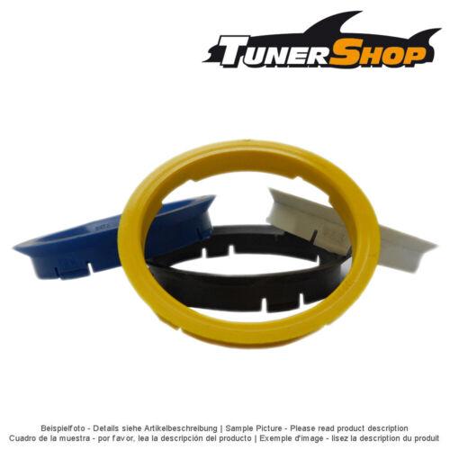 4 AEZ llantas anillas de centrado 70,1-65,1mm para volvo s60 s80 s90 v70 v90