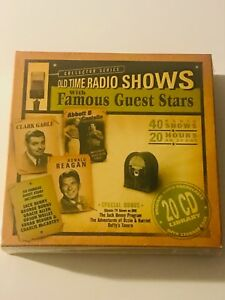 Details about Old Time Radio Shows w Famous Guests 20 CDs 20 Hours 40 Shows  New in Plastic