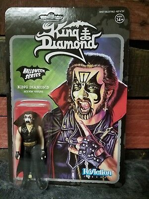 KING DIAMOND ReAction Figure-King Diamond Top Hat Miséricordieux sort en métal noir