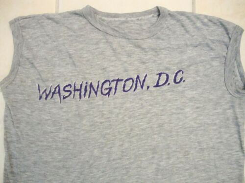 Vintage Washington DC Capitol Tourist Bro Tank Top