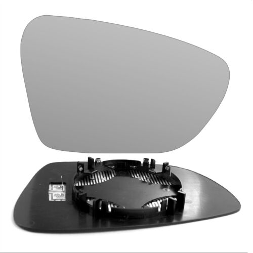 Right Driver side wing door mirror glass for Kia Ceed 2012-On heated
