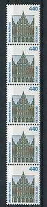 Bund-1937-R-5-er-Streifen-postfrisch-SWK-Rollenmarken-Sehenswuerdigkeiten-Nr-440
