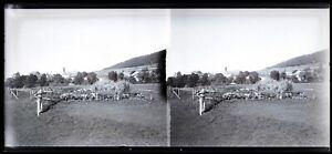 Paesaggio Campagna Francia c1930 Foto Negativo Placca Da Lente Vintage VR16L8n2