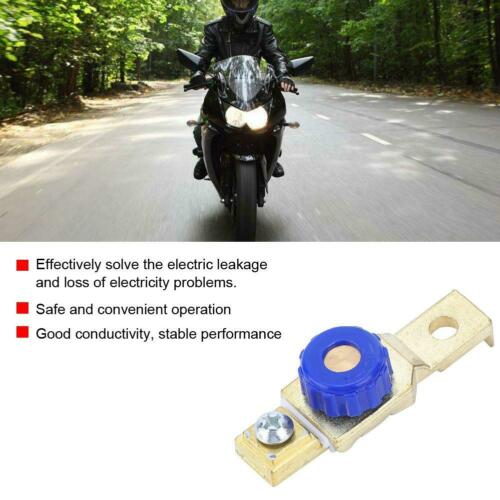 Motorcycle Battery Power Cut Off Protection Switch Disconnect Master Isolator