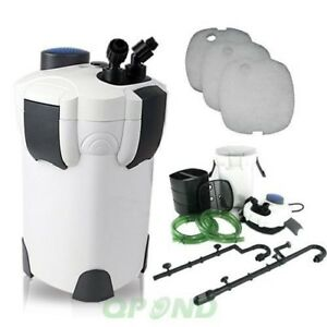 4-STAGE-9W-UV-AQUARIUM-CANISTER-FILTER-370-GPH-FOR-FRESH-SALT-WATER-UP-TO-100GAL